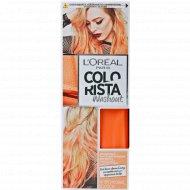 Бальзам окрашивающий смываемый для волос «Colorista» персик, 80 мл.