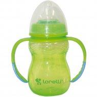 Бутылочка для кормления «Lorelli» с ручками, 250 мл.