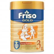 Смесь сухая «Friso» Gold 3, с 12 месяцев, 400 г