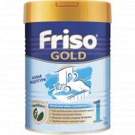 Молочная смесь «Frisolac Gold 1» с пребиотиками, 400 г.