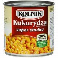 Кукуруза сладкая «Rolnik» консервированная 340г.