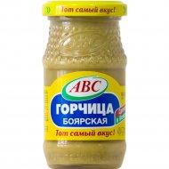 Горчица «ABC» Боярская, 180 г.