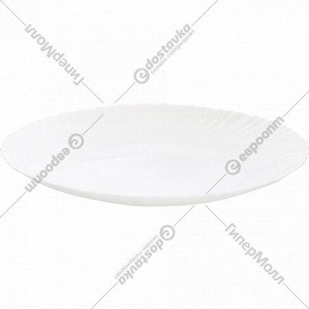 Тарелка «Blanche» стеклокерамическая, 26 см.