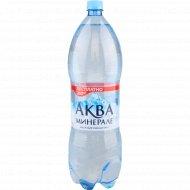 Вода питьевая «Аква Минерале» негазированная, 2 л.