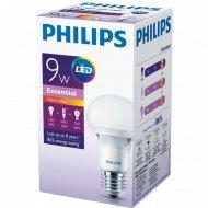 Лампа «Philips» LEDBulb 9-65W E27 3000K 230V A60.