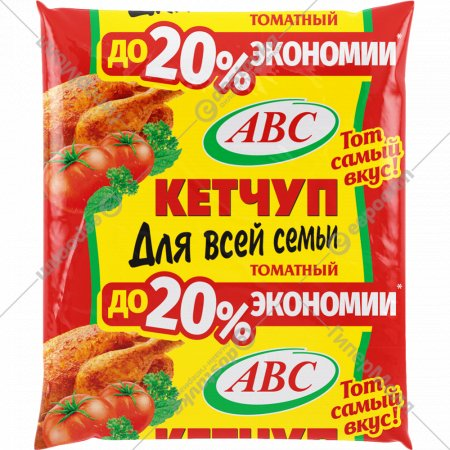 Кетчуп «ABC» для всей семьи, 400 г.