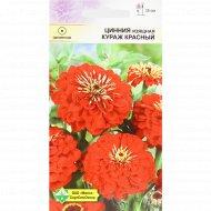 Семена циннии изящной «Кураж красный» 0.3 г.