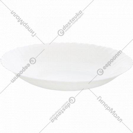 Тарелка «Blanche» стеклокерамическая, 24 см.