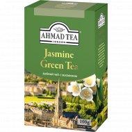 Чай зеленый «Ahmad Tea» с жасмином, 100 г.