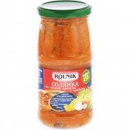Солянка «Rolnik» из свежей капусты с грибами, 450 г.