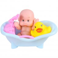 Пупс в ванночке.