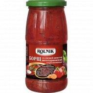 Борщ «Rolnik» со свежей капустой, вегетарианский, 450 г.