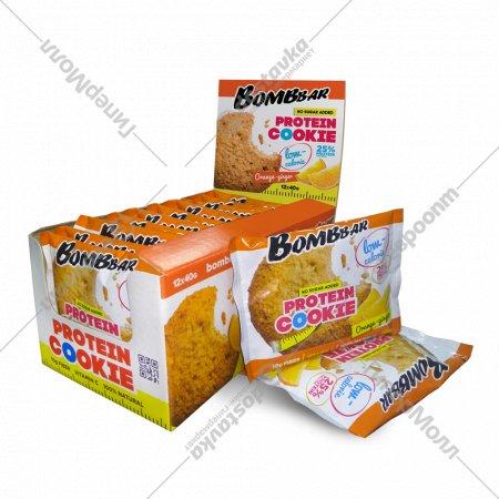Печенье неглазированное «Bombbar» апельсин-имбирь, 40 г.