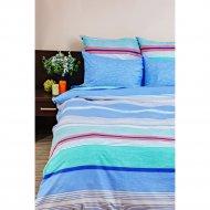 Комплект постельного белья «Ночь Нежна» Стиль, евро 70х70, голубой.