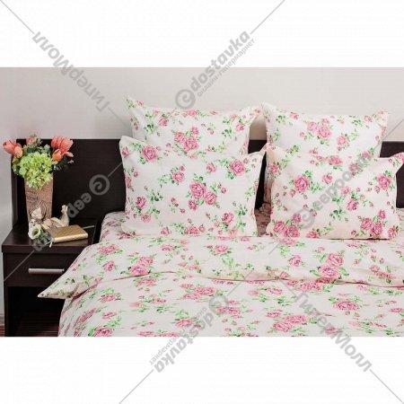 Комплект постельного белья «Ночь Нежна» Лили Марлен, 2 сп. бежевый.