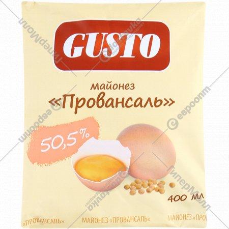 Майонез «Провансаль» столовый деликатесный 50.5%, 400 мл.