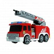 Игрушка «Пожарная машина» со светом, звуком и батарейками, 15 см.
