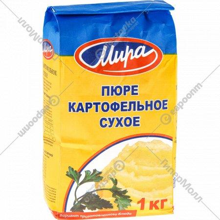Пюре картофельное сухое «Мира» 1 кг.