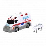 Игрушка «Машина скорой помощи» со светом и звуком, 15 см.