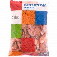 Креветки северные «Русская Рыбная Компания» варено-мороженые, 1 кг.