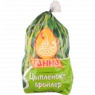 Тушка цыплёнка-бройлера охлажденная 1 кг., фасовка 2.1-2.6 кг