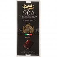 Горький шоколад «Zaini» 90%, 75 г