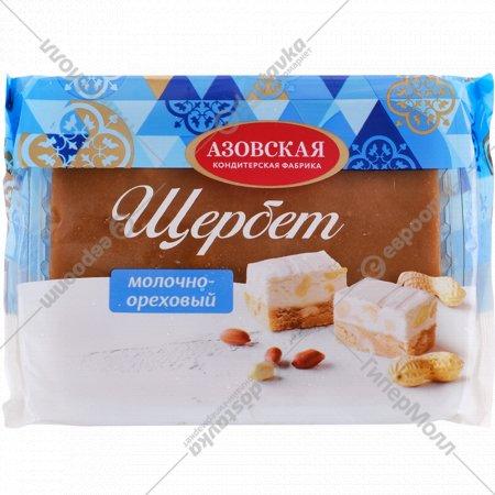 Щербет молочно-ореховый, 240 г .