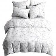 Комплект постельного белья «Ночь Нежна» Грань, 2 сп. евро 70х70.