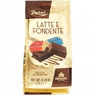Конфеты шоколадные «Zaini» молочный и темный шоколад, 173 г