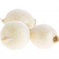 Лук репчатый белый «Albio» 1 кг., фасовка 0.6-0.7 кг