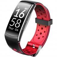 Фитнес-браслет «Sovo» SE12, черно-красный