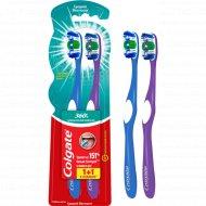 Зубная щетка «Colgate» 360 суперчистота, 1+1.