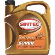 Масло моторное «Sintec» супер SAE 10W-40, 4 л.