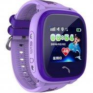 Часы-телефон «Wonlex» GW400S, фиолетовые