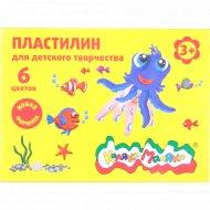 Пластилин «Каляка-Маляка» 6 цветов 90 г.