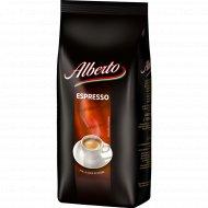 Кофе натуральный «Alberto» espresso, в зернах, 1 кг.