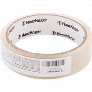 Лента клейкая полимерная «HanzKoger» 25 ммx36 м