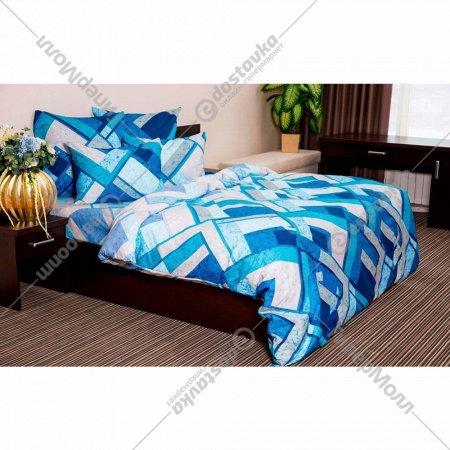 Комплект постельного белья «Ночь Нежна» Мраморная клетка, 2 сп. 70х70.