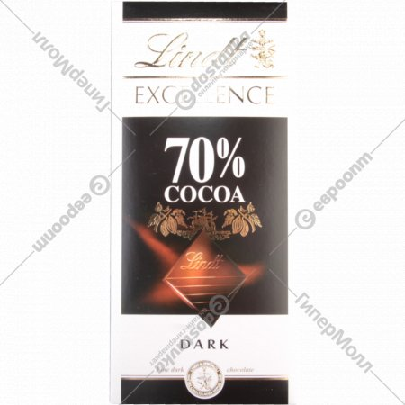 Шоколад горький «Lindt» 100 г.