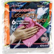 Салфетка из микрофибры «Economy Clean» 25х25см.