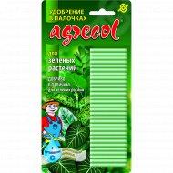 Удобрение в палочках «Agrecol» для зеленых растений.
