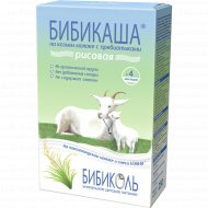 Каша рисовая «Бибикаша» на козьем молоке, 200 г.