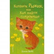 Книга «Котёнок Рыжик, или Как найти сокровище».