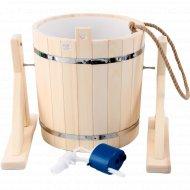 Русский душ с пластиковой вставкой и наливным клапаном, 20 л.