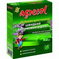 Удобрение для газона «Agrecol» ковровый эффект, 1.2 кг.