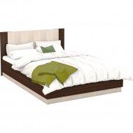Кровать «Империал» Аврора 160, встроенное основание, Венге/Дуб молочный