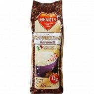 Кофейный напиток «Hearts» cappuccino caramel, 1 кг.