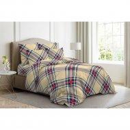 Комплект постельного белья «Ночь Нежна» Брайтон, евро 50х70, желтый.