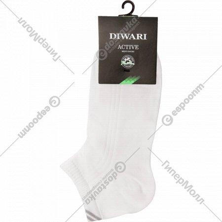 Носки мужские, размер 27, белые.
