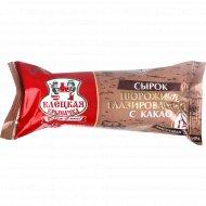 Сырок глазированный «Клецкая крыначка» с какао 12%, 50 г.